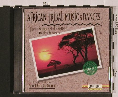 V.A.African Tribal Music & Dances: Makinge,Baoule..., LaserLight(12 179), D, 1995 - CD - 84076 - 7,50 Euro