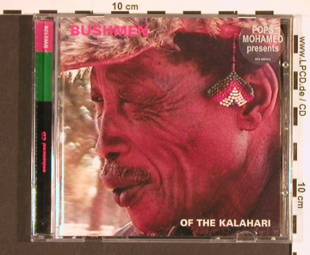 Bushmen of the Kalahari: 17 Tr., Pops Mohamed pres., Melt(), ,  - CD - 84119 - 10,00 Euro