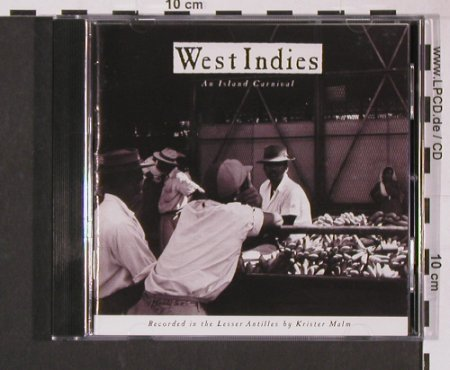 V.A.West Indies-An Island Carnival: Music of Antilles,12Tr., Elektra(), D, 1991 - CD - 84184 - 7,50 Euro