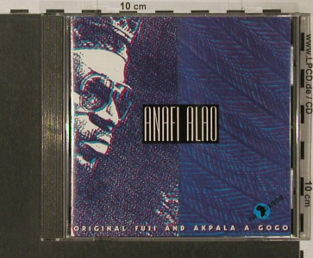 Alao,Anafi: Original Fuji and Akpala a Go Go, Voix d'Afrique(014), D,  - CD - 84200 - 7,50 Euro