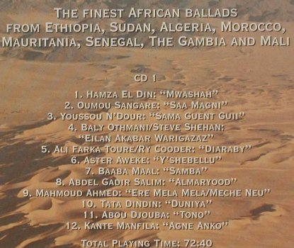 V.A.Desert Blues: Ambiances du Sahara, Digibook, Network(), D, 1995 - 2CD - 90276 - 11,50 Euro