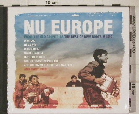 V.A.Nu Europa: Think of One...Manu Chao, FS-New, Manteca(), UK,26 Tr, 2004 - 2CD - 90624 - 11,50 Euro