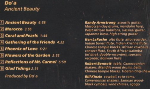 Do'a - AncientBeauty: Randy Armstrong Ken La Roche, Rounder(PHILO cd 9004), US, 1986 - CD - 92146 - 11,50 Euro