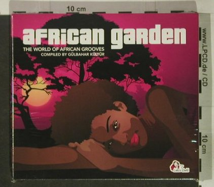 V.A.African Garden: The World of African Grooves,Digi, Lola's World(), , FS-New, 2005 - 2CD - 92500 - 10,00 Euro