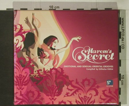 V.A.Harem's Secret: Emotional&Sensual OrientalGrooves, Soulstar(), FS-New, 2004 - 2CD - 92546 - 10,00 Euro