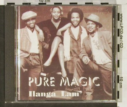 Pure Magic: Ilanga Lam, EWM(ewm 4144-2), D, 1994 - CD - 93043 - 10,00 Euro