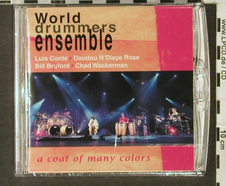 World Drummers Ensemble: A Coat of Many Colors, Dualdisc, Summerfold(), , FS-New, 2006 - CD - 94012 - 10,00 Euro