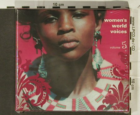 V.A.Women's World Voices: Vol. 5 - Box, FS-New, Blue Flame(), , 2005 - 2CD - 94195 - 14,00 Euro