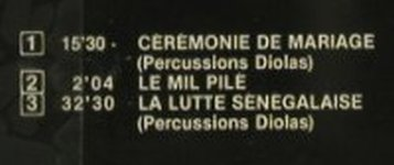 V.A.Pecussions Of Africa: Percussions D'Afrique, FS-New, Playa Sound(), F,  - CD - 94322 - 10,00 Euro