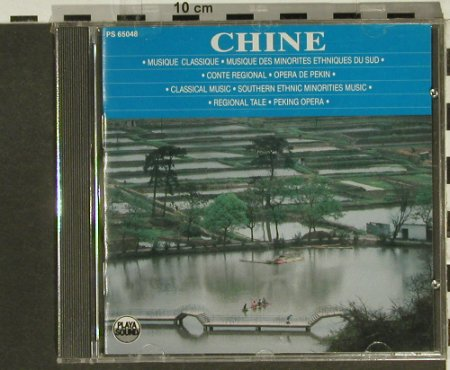 V.A.China: Classical,Southern Etnic,Peking, Playa Sound(), F, FS-New, 1990 - CD - 94330 - 10,00 Euro
