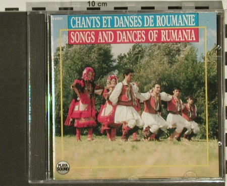 V.A.Songs And Dances Of Rumania: FS-New, Playa Sound(), F, 1988 - CD - 94334 - 10,00 Euro