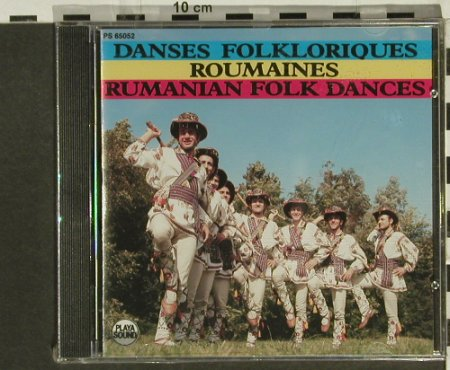 V.A.Rumanian Folk Dances: FS-New, Playa Sound(), F, 1990 - CD - 94335 - 10,00 Euro
