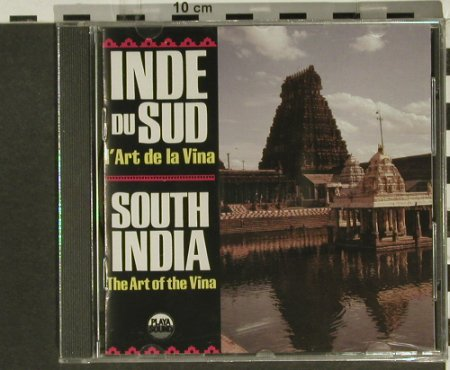 V.A.South India: The Art Of The Vina, Playa Sound(), F, FS-New, 1987 - CD - 94338 - 10,00 Euro