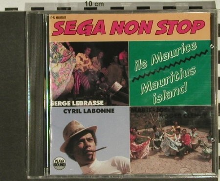 V.A.Sega Non Stop: Lebrasse,Labonne..., Playa Sound(), F, FS-New, 1990 - CD - 94341 - 10,00 Euro