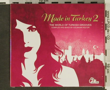 V.A.Made in Turkey: 2- ,Digi,...Turkish Grooves,FS-New, Soulstar(), , 2006 - 2CD - 94490 - 11,50 Euro