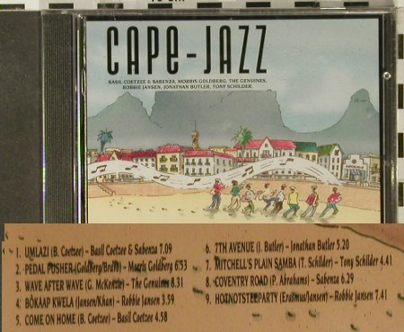 V.A.Cape-Jazz: 9 Tr., FS-New, Mountain(MOULP 74), EU, 1992 - CD - 94578 - 10,00 Euro