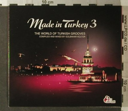 V.A.Made in Turkey: 3 -The World oTurkish Grooves, Digi, Soulstar(), , 2007 - 2CD - 96219 - 11,50 Euro