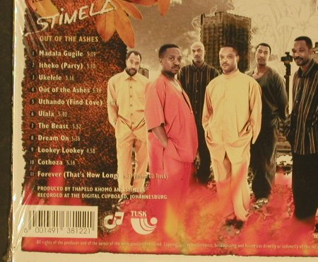 Stimela: Out of the Ashes, Digi, FS-New, Tequila(), , 1996 - CD - 96829 - 12,50 Euro