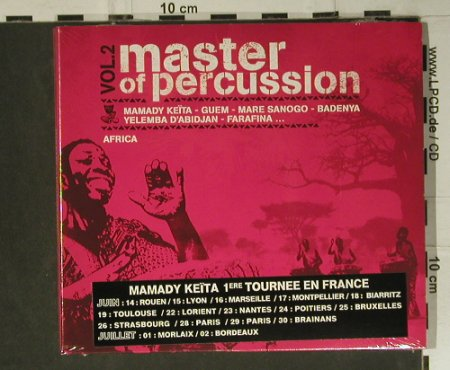V.A.Master of Percussion 2: Africa, Digi, FS-New, Follow Me(FM123CD), F, 2004 - CD - 98878 - 12,50 Euro