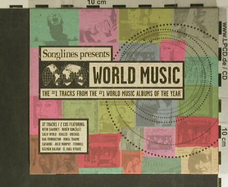 V.A.Songline pres.World Music: 37 Tr. #1, Manteca(), , 2000 - 2CD - 99455 - 10,00 Euro