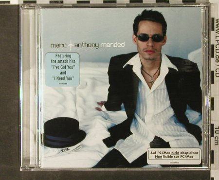 Anthony,Marc: Mended, Sony(), , 2002 - CD - 51221 - 10,00 Euro