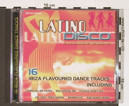 Studio 99: Latino Disco, Going For A Song(GFS 266), EEC,  - CD - 51288 - 5,00 Euro