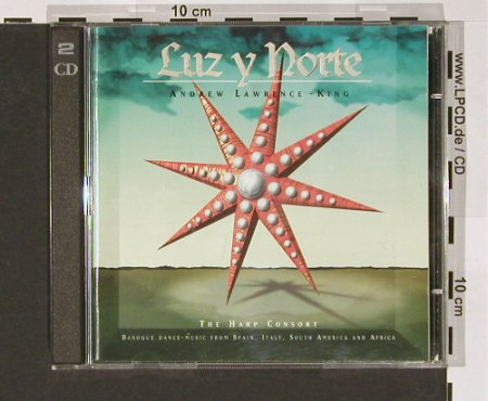 "Lawrence-King,Andrew: Luz y Norte,The Harp Consort, dhm(), EC, +CD5"", 95 - 2CD - 51320 - 12,50 Euro"