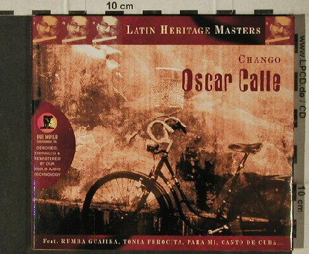Calle,Oscar: Chango, Digi  ( Cuban), Our World(804558370727), EU, 2002 - CD - 51470 - 5,00 Euro