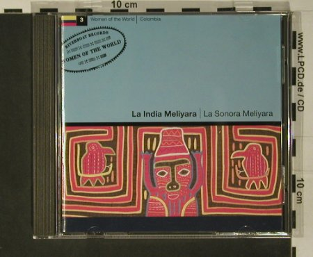 La India Meliyara: La Sonora Meliyara(Columbia), Riverboat(), UK, 1992 - CD - 52988 - 5,00 Euro