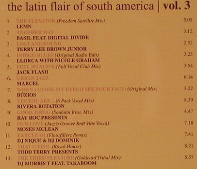 V.A.Caipirinha Mix Vol.3: The Latin Flair of South America, ZYX(), D, 2002 - CD - 53075 - 7,50 Euro