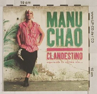 Manu Chao: Bienven a Tijuana,Bongo Bong video, Virgin,EU(), Digi, 99 - CD5inch - 54718 - 3,00 Euro