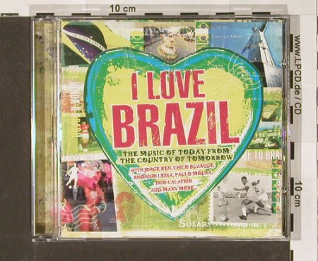 V.A.I Love Brazil: 18 Tr.,, Solar(), UK, 04 - CD - 55086 - 10,00 Euro