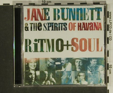 Bunnett,Jane & Spirits Of Havanna: Ritmo+Soul, EMI(), CDN, 00 - CD - 58703 - 5,00 Euro