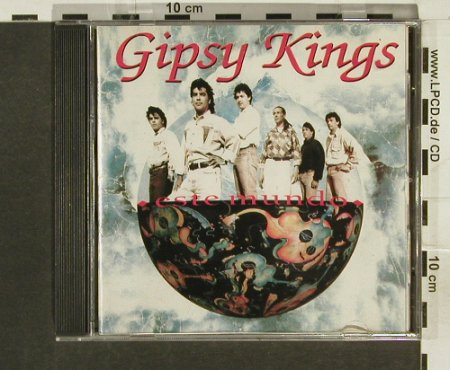 Gipsy Kings: Este Mundo, Epic(752.062/2-46864), Brasil, 91 - CD - 59083 - 5,00 Euro