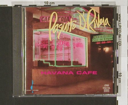 D'Rivera,Paquito: Havanna Cafe, Chesky(), US, 92 - CD - 61146 - 10,00 Euro