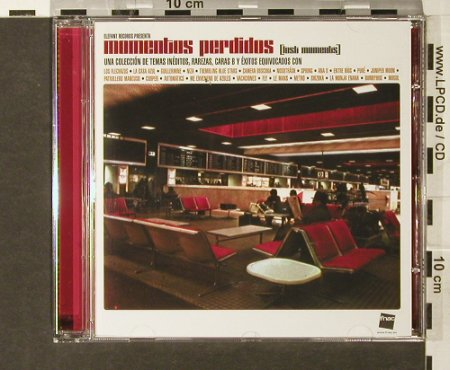 V.A.Momentos Perdidos: Lost Moments, 24 Tr., Elefant Rec.(), EU, 2004 - CD - 61474 - 5,00 Euro