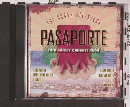 Cuban All Stars: Pasaporte, Enja(ENJ-9019 2), D, 1995 - CD - 61532 - 10,00 Euro