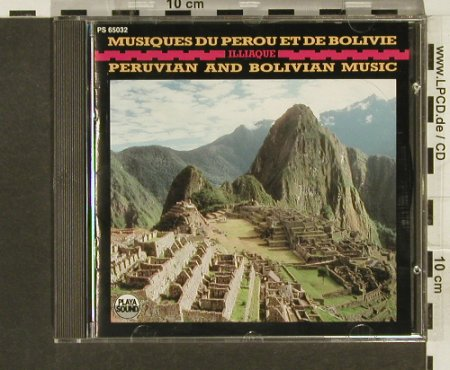 ILLiaque: Musique du Perou et de Bolivie'79, Playa Sound(), F, 1989 - CD - 64024 - 7,50 Euro