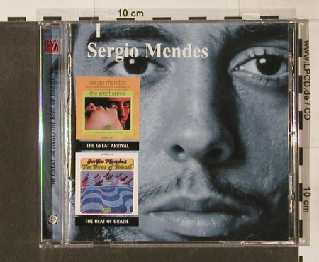 Mendes,Sergio: The Great Arrival/The Beat Of Brazi, Warner(), D,22Tr., 2000 - CD - 64808 - 11,50 Euro