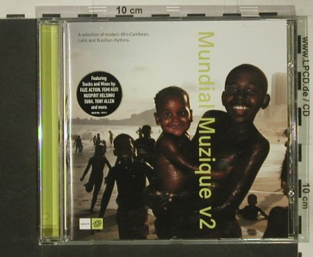 V.A.Mundial Muzique vol.2: 10Tr.select.modern.Afro,Carib.Latin, Guidance(), EU, 02 - CD - 68295 - 5,00 Euro