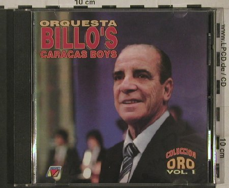 Billo's Caracas Boys: Collection Oro, Vol.1, Vedisco Rec.(5059-2), US, 1994 - CD - 80383 - 10,00 Euro