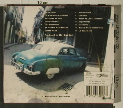 Buena Vista Social Club: Same,SC incl.Booklet, World Circuit(WCD 050), , 1997 - CD - 81374 - 10,00 Euro