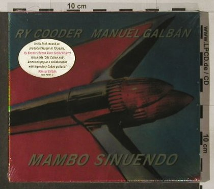 Cooder,Ry & M.Galban: Mambo Sinuendo,FS-New, Nonesuch(), D, 2002 - CD - 90296 - 11,50 Euro
