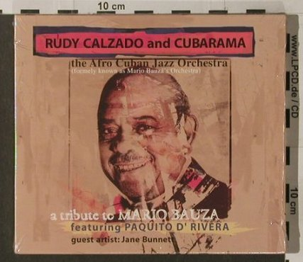 Calzado,Rudy and Cubarama: A Tribute To Mario Bauza, FS-New, Connector(15851-2/ EFA), , 1999 - CD - 91863 - 10,00 Euro