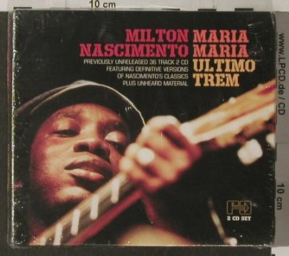 Nascimento,Milton: Maria Maria Ultimo Trem,Digi,FS-New, Far Out(), A, 2004 - 2CD - 91918 - 10,00 Euro