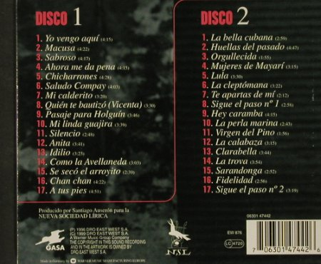 Compay Secundo: Antologia with Booklet, Dro East(), D, 1999 - 2CD - 92588 - 11,50 Euro
