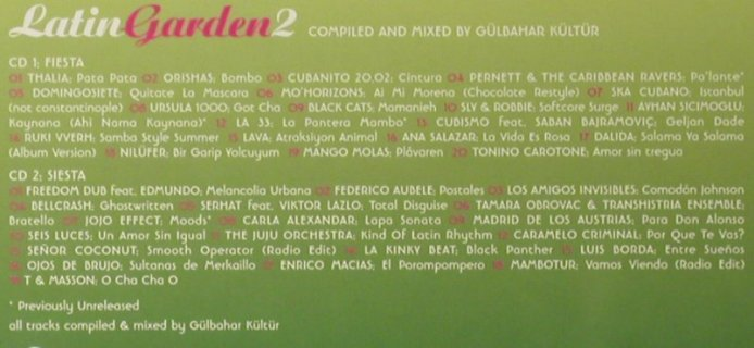 V.A.Latin Garden 2: The World Of Latin Grooves, FS-New, Lola's World(), ,  - 2CD - 93553 - 12,50 Euro