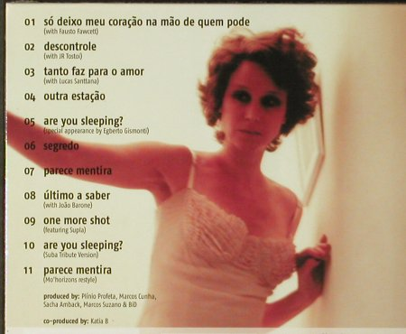 Katia B.: So Deixo Meu Coracao, Digi, FS-New, Peacelounge(), EU, 2005 - CD - 93932 - 10,00 Euro