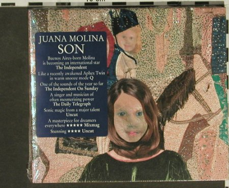 Molina,Juana: Son, Digi, FS-New, Domino(), EU, 2006 - CD - 94537 - 10,00 Euro