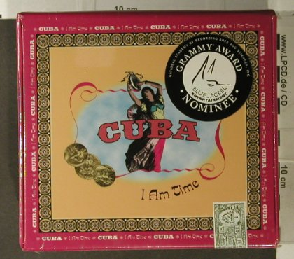 V.A.Cuba: I am Time, BoxSet, FS-New, Blue Jackel(), US, 1997 - 4CD - 95052 - 25,00 Euro